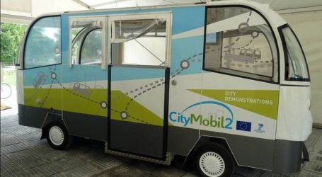 Δύο αυτόματα λεωφορεία στους δρόμους των Τρικάλων
