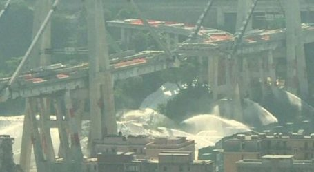 Κατεδαφίστηκε με εκρηκτικά η φονική γέφυρα στη Γένοβα