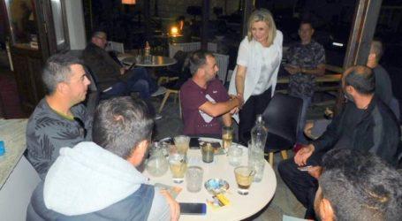 Στην Ελασσόνα περιοδεύει η Λιακούλη: «Ψήφος σταθερότητας, η ψήφος στο Κίνημα Αλλαγής»