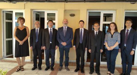 Επίσημη Επίσκεψη της Αντιπροσωπείας του Πανεπιστημίου Changshu Institute of Technology στο Πανεπιστήμιο Θεσσαλίας