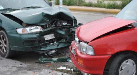 Τροχαίο ατύχημα στον Βόλο