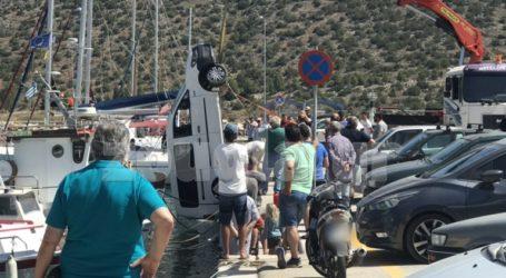 Αυτοκίνητο έκανε βουτιά στο λιμάνι της Ερμιόνης