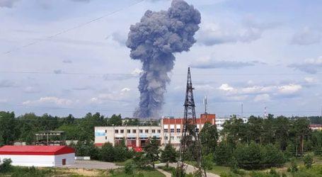 Ρωσία: Κατασβέστηκε η πυρκαγιά στο εργοστάσιο Κριστάλ
