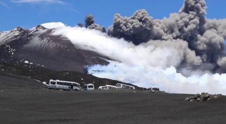 «Ξύπνησε» το ηφαίστειο της Αίτνας