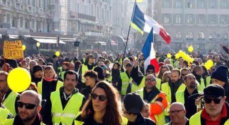 Μειωμένη συμμετοχή στις κινητοποιήσεις των «κίτρινων γιλέκων»