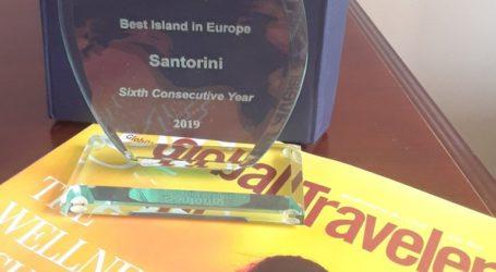 Καλύτερο νησί της Ευρώπης η Σαντορίνη