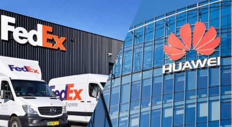 Η Huawei εξετάζει το πλαίσιο της συνεργασίας της με την FedEx Corp