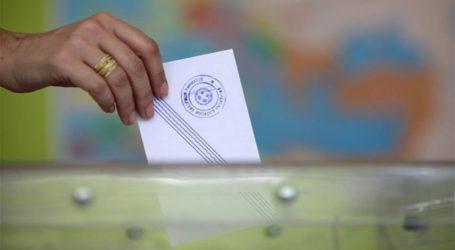 Κανονικά διεξάγεται η ψηφοφορία στους νομούς Τρικάλων και Καρδίτσας