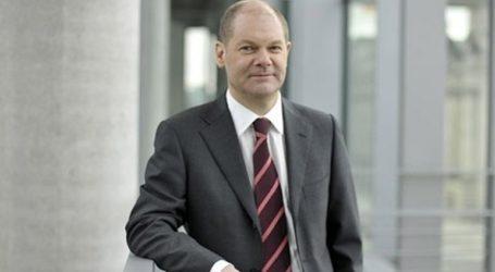 Ο υπουργός Οικονομικών Όλαφ Σολτς απέκλεισε το ενδεχόμενο να αναλάβει επικεφαλής του SPD