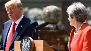 Η Βρετανία «στρώνει κόκκινο χαλί» για τον Τραμπ