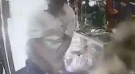 Ληστής με ρόπαλο επιτίθεται σε γυναίκα υπάλληλο καταστήματος