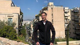 Επίσκεψη Μπακογιάννη στο Δημαρχείο της Αθήνας και συνάντηση εργασίας με τον Γιώργο Μπρούλια