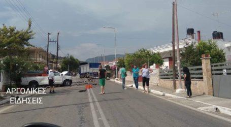 Τροχαίο δυστύχημα με έναν νεκρό στα Φίχτια Αργολίδας