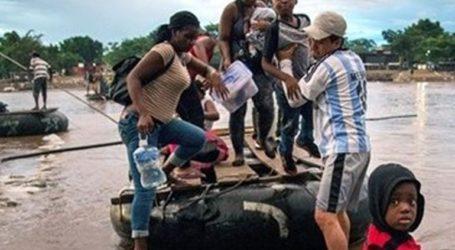 Καραβάνι 1.200 μεταναστών από την Κεντρική Αμερική διέσχισε τα σύνορα με τη Γουατεμάλα