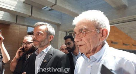 Συνάντηση Μπουτάρη με τον νέο δήμαρχο Κωνσταντίνο Ζέρβα