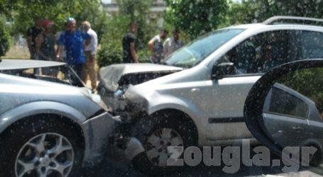 Σφοδρή σύγκρουση με δύο τραυματίες στην Αγία Βαρβάρα