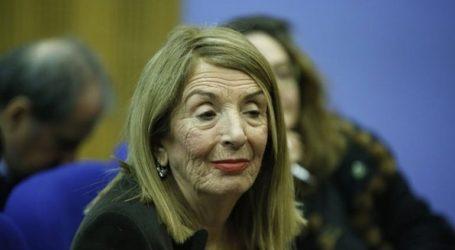 H T. Χριστοδουλοπούλου ανακοίνωσε ότι δεν θα συμμετάσχει στις εκλογές