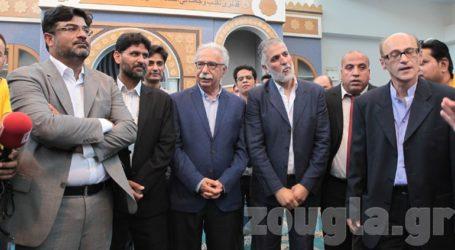 Εγκαίνια στο Ισλαμικό Τέμενος Αθηνών παρουσία Γαβρόγλου