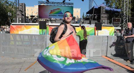 Η παρέλαση του Athens Pride στο Σύνταγμα