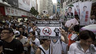 Xιλιάδες πολίτες του Χονγκ Κονγκ διαδηλώνουν κατά του νομοσχεδίου για έκδοση υπόπτων