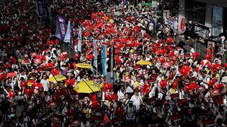 Ταραχές στο Χονγκ Κονγκ σε διαδήλωση κατά ενός νομοσχεδίου έκδοσης υπόπτων στο Πεκίνο