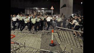 «Ξένες δυνάμεις» προσπαθούν να προκαλέσουν χάος στο Χονγκ Κονγκ