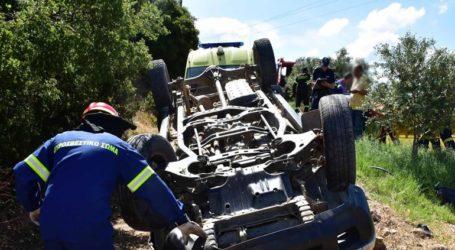 Ανατροπή αγροτικού οχήματος στην Αργολίδα με τραυματίες