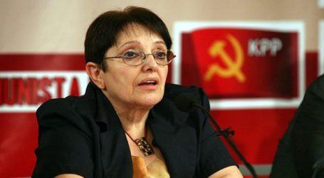 Η Α. Παπαρήγα και ο Θ. Μικρούτσικος στο ψηφοδέλτιο Επικρατείας του ΚΚΕ