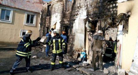 Έξι νεκροί σε πυρκαγιά που ξέσπασε σε ψυχιατρική κλινική στην Οδησσό
