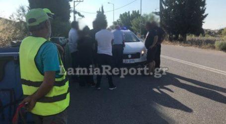 Λαμία: Οδηγός βαν παρέσυρε υπάλληλο καθαριότητας και την εγκατέλειψε