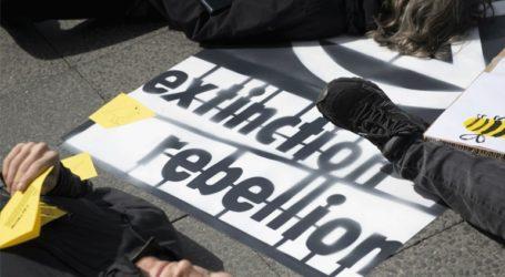 Οικολόγοι ακτιβιστές αλυσοδέθηκαν στην καγκελαρία
