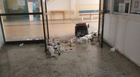 Ένας «απέραντος σκουπιδότοπος» το ΤΕΙ Θεσσαλονίκης