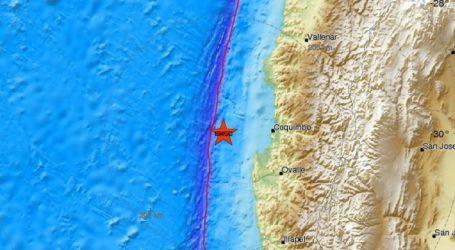 Σεισμική δόνηση 6,5R στη Χιλή