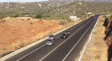 Αποκαταστάθηκε η κυκλοφορία στη θέση «Μεγάλα Χωράφια» της Εθνικής οδού Χανίων – Ρεθύμνης