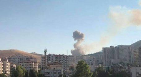 Οκτώ τραυματίες από την έκρηξη σε αποθήκη πυρομαχικών στη Δαμασκό