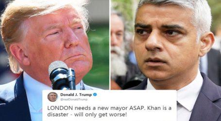 Νέα επίθεση Τραμπ στον δήμαρχο του Λονδίνου