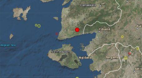 Σεισμός 4,1 R κοντά στις ακτές της δυτικής Τουρκίας