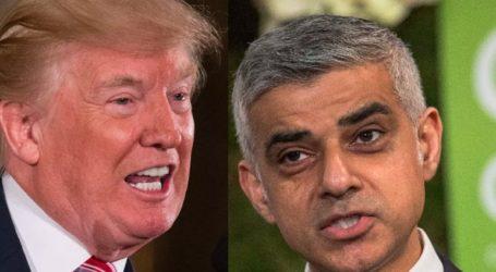 Μαίνεται η κόντρα του Τραμπ με τον δήμαρχο του Λονδίνου