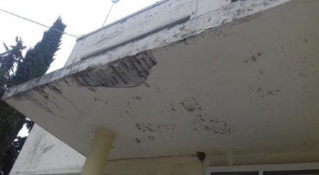 Πέφτουν σοβάδες στο Νοσοκομείο Κιλκίς