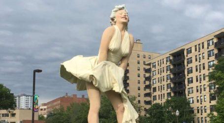 Έκλεψαν το άγαλμα της Μέριλιν Μονρόε από τη «Λεωφόρο της Δόξας»
