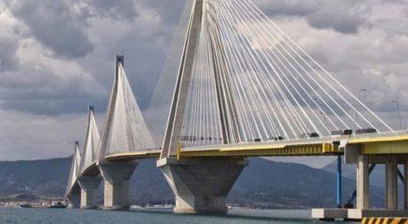 Ποδηλάτης έπεσε από τη Γέφυρα Ρίου-Αντιρρίου