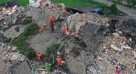 Εκατοντάδες χιλιάδες άνθρωποι επηρεάστηκαν από τον ισχυρό σεισμό στην επαρχία Σετσουάν