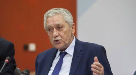 Στην αναδιοργάνωση του λιμενικού συστήματος της χώρας αναφέρθηκε ο Φ. Κουβέλης