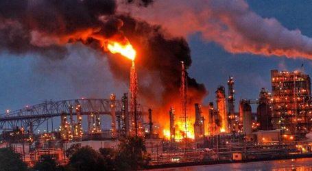 «Εκτεταμένη» πυρκαγιά μαίνεται σε διυλιστήριο πετρελαίου της Πενσιλβάνια