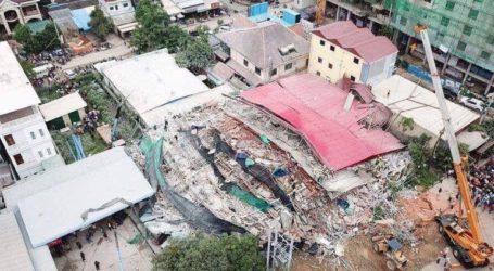 Στους επτά αυξήθηκαν οι νεκροί από την κατάρρευση κτιρίου στην Καμπότζη