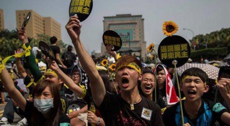 Νέα διαδήλωση διαμαρτυρίας κατά της κινεζικής επιρροής έγινε σήμερα στην Ταϊπέι