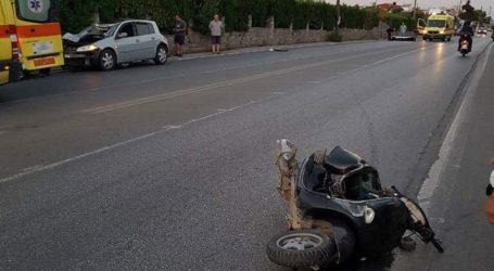 Δύο νεκροί σε τροχαίο δυστύχημα στα Χανιά
