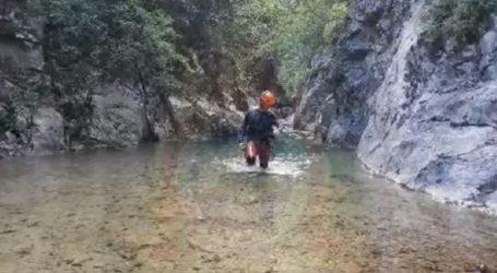 Καρέ-καρέ η διάσωση δύο ορειβατών στον Όλυμπο