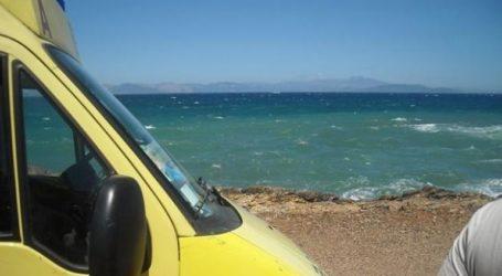 Άνδρας πέθανε από ανακοπή καρδιάς σε παραλία της Χίου