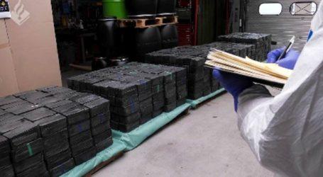 Κατασχέθηκαν 2,5 τόνοι ναρκωτικών στην Ολλανδία